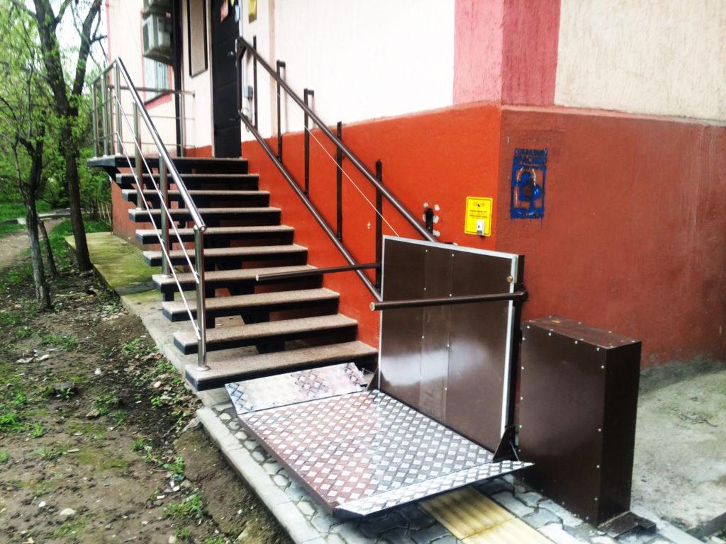 Оборудование входных групп для инвалидов
