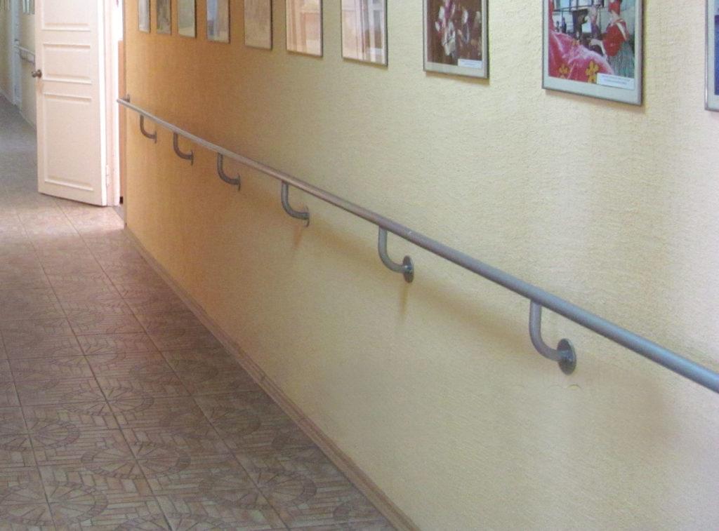 Поручни и перила для инвалидов и пожилых людей