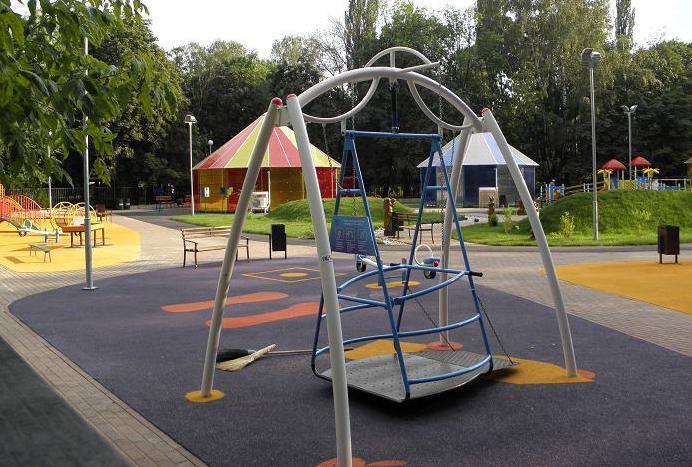 Игровые площадки для детей с ограниченными возможностями