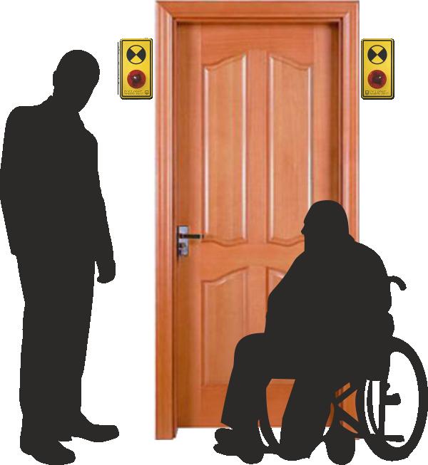 Световые маяки для инвалидов